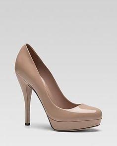 Gucci #shoes #heels #pumps  nude