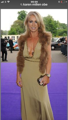 Greed that bankrupted Karen Millen Greed, Karen Millen, Fur Coat, Formal Dresses, Lady, Sweaters, Jackets, Beautiful, Natural