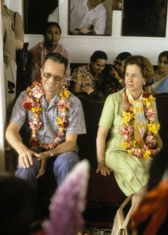 1981 - Baudouin and Fabiola on a visit to Bangladesh