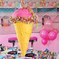 Ice Cream Cone Pinata