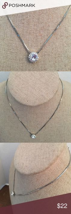 Necklace Swarovski silver tone Necklace Swarovski silver tone Swarovski Jewelry Necklaces