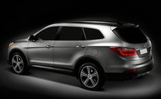 Have you seen the new Hyundai Santa Fe with passenger suv? If you go with the limited it will have bucket second row se. Santa Fe Car, Santa Fe 2013, 2014 Hyundai Santa Fe, Hyundai Cars, Motor Car, Teaser, Nissan, Vehicles, Sports