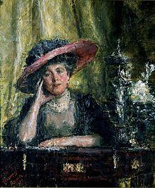 "Antonio Mancini (Italian, 1852 - - ""Lady Phillips"", 1909 - Oil on canvas - Johannesburg Art Gallery John Singer Sargent, Italian Painters, Italian Artist, Johannesburg Art Gallery, Art Parisien, South African Art, Academic Art, Edgar Degas, Portraits"