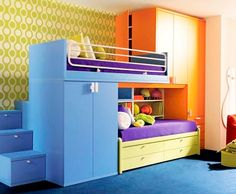 kids bunks with storage - Google Search
