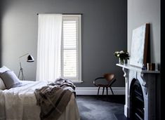 popular grey bedroom