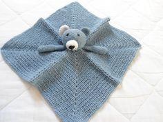Manta de apego Urso Azul  Lovey Blanket