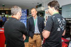 Olivier Nepomiachty (SugarCRM France) et Tony Frebault (Blue note systems) présentent le CRM et SugarCRM