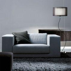 "Loe En Floor Lamp, Loe En Pendant Lamp & Modiss Pendant Lamp | YLightingl.  This shade ""black mesh."""