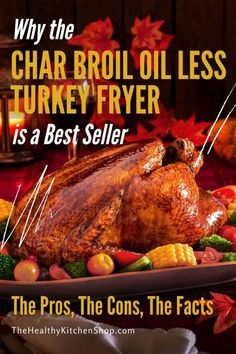 We love the Char Broil Oil Less Turkey Fryer, but it may not be for everyone. Here's everything you need to know before you buy - the pros, the cons, the facts. It's not the only option for grease-free fried turkey, and we'll show you that too. Save time and shop smart! #oillessturkeyfryer #turkeyairfryer #charbroilturkeyfryer #charbroilthebigeasy #thebigeasyturkeyfryer