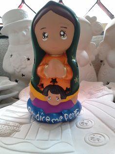 Virgencita distroyer de ceramica, Virgen de Guadalupe - caramic Guadalupe virgin