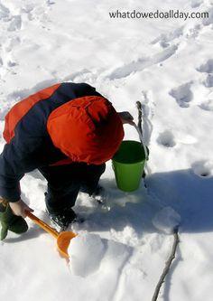 Creative Winter Activities with Kids (great for indoors).