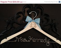Hey, I found this really awesome Etsy listing at https://www.etsy.com/listing/185457942/on-sale-disney-bride-hanger-cinderella