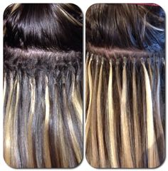 Before And After Extention Adjustment Dreamcatchers Hair By Corrine