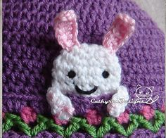 A happy bunny greets everyone wherever you go!The bunny's legs/arms are free to pose in many ways!