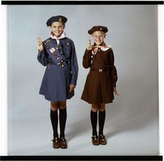 I was both a Brownie(picture on the right) and a Girl Guide. They are the Canadian equivalent of Girl Scouts. I loved going to Girl Guide camp and earning badges! I never had to wear the hat. I do remember the salute though and the Girl Guide song. My Childhood Memories, Sweet Memories, Guides Uniform, Brownies Girl Guides, Guide Badges, Girl Scout Uniform, Brownie Badges, World Thinking Day, Canadian Girls