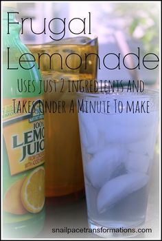 This inexpensive and simple to make lemonade is a family favorite. I serve it to my children's friends all the time and they always ask for more. Perfect for hot summer days.