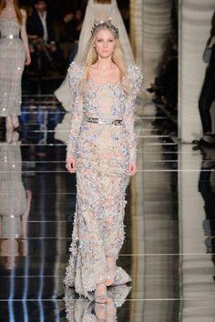 The Best Dresses of Paris Couture Spring 2016 Zuhair Murad