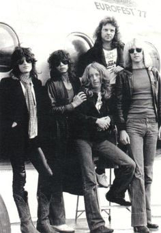 Aerosmith- when the sunglasses they wore were to hide the night before...