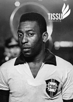 El rey Pelé leyenda del fútbol.