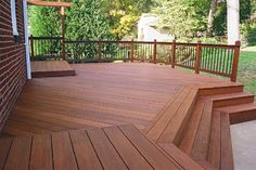 Hardwood Deck Stains and Finishes | Thompson Mahogany