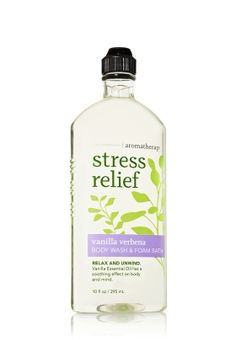 This bath wash/bubble bath product from Bath and Body Works is to die for. It smells absolutely marvelous and can wash any amount of stress away!