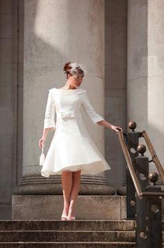 Vestidos de Novia Vintage. Inspiración Años 50.