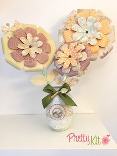 Envelope Punch Flower-tuto