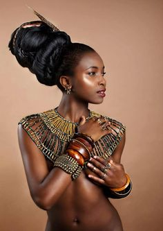 African fashion is available in a wide range of style and design. Whether it is men African fashion or women African fashion, you will notice. Ebony Beauty, Dark Beauty, Black Women Art, Black Girls, Black Man, African Beauty, African Fashion, My Black Is Beautiful, Beautiful Women