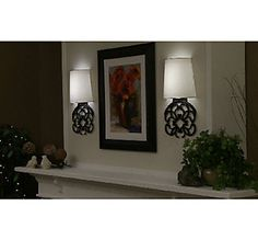 Home Reflections Scrollwork Wall Sconce - light anywhere I want it!