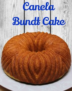 Bundt cake, bizcocho,canela.