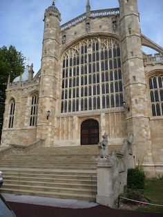 St. George's Chapel Windsor - Burial Site of King Henry VIII and Queen Jane Seymour