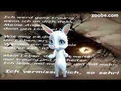 Trauer...Ich vermisse dichTränen, Himmel, Gedichte, Zoobe, Animation
