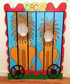 Circus - Circus Party - Circus Prop - Circus Birthday - Circus Decor - Circus Lion prop - Circus Pho Circus First Birthday, First Birthday Photos, Birthday Party Themes, Birthday Board, Birthday Ideas, Vintage Circus Party, Circus Wedding, Circus Theme, Circus Circus