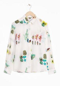 & Other Stories | Herbarium Silk Shirt