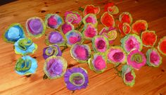 felted flowers