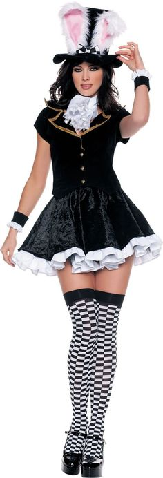 Adult Totally Mad Sexy Mad Hatter Costume - Party City THINK ABOUT BEING THIS ! ITS SO CUTE