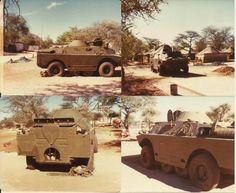 Captured BRDM-2 by SADF.