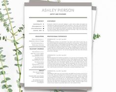 Unique Professional And Easy To Use Resume Templates By Cursory