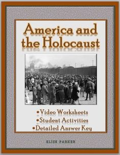 What was the view of Jews in the United States during the 1930s as the Holocaust loomed ominously ahead? What did the United States try to do to lessen the scale of the horrific tragedy . . . and what more could the nation have done? Take your Holocaust teaching to the next level with these American Experience: America and the Holocaust worksheets. 23 cloze problems plus lots of analysis and follow-up to get students engaged! #holocaust #pbs #americanexperience #teachwithvideo #nazigermany…