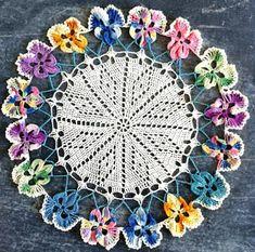 Pansy Doily Free Crochet Pattern