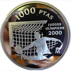 1000 Pesetas 1999 Juegos Olímpicos Sidney 2000. Sin estuche.