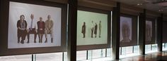 live portraits Roman Shades, Portraits, Curtains, Group, Live, Artwork, Projects, Home Decor, Log Projects