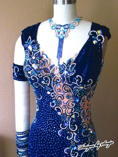 Ballroom Jewelry, accessories and Ballroom dress, designed and created by Sonja Ballin. All Designs copyright ©2014, Sonja Ballin of Tampa Bay, Florida www.sonjadesigns.com Check us out  (and like) on Facebook:  https://www.facebook.com/pages/Designs-By-Sonja/220737151285770