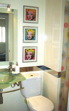 baño con pintura para azulejos
