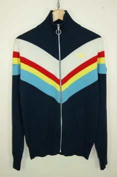ADIDAS CARLOS GRUBER VINTAGE TRACKSUIT TOP Tracksuit Tops 31d296f5793