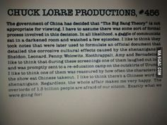 One of Chuck Lorre's Best Vanity Cards