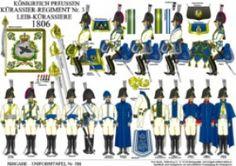 プレート298:プロイセン王国:1806 Cuirassiers 3番