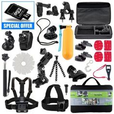 4.The Best Accessories Kit for GoPro Hero 4 Reviews