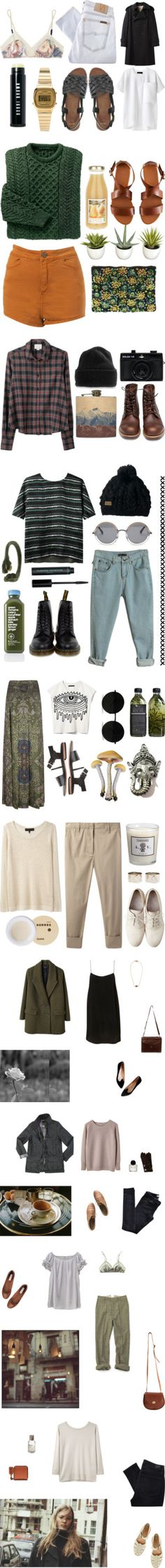 """Real-Life Nomad"" by natalieoffduty ❤ liked on Polyvore"