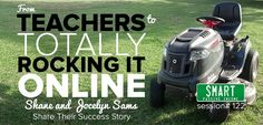 This interview of teachers who are earning six figures online from home is incredibly inspiring! The story of this down to earth couple shows that anyone can take their skills from their existing job and turn it into a successful at home business.